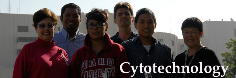 Program information for the cytotechnology program, which is offered through the Department of Clinical Laboratory Sciences in the School of Allied Health Professions at Loma Linda University in Loma Linda, CA.