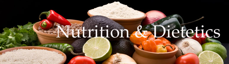 School of Allied Health Professions Nutrition Department contact information