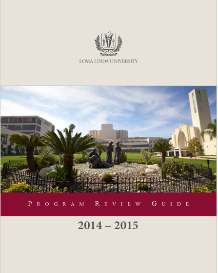 Program Review Guide 2014-2015