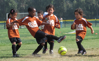 Goal 4 Health; youth soccer