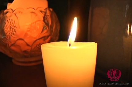 Kinzer-Rice Award Video candle flame