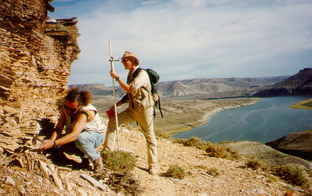 Geologists at work