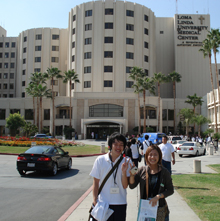 Students from Jikei University in Japan visit Loma Linda University