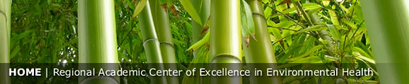 Home -- Regional Academic Center of Excellence in Environmental Health